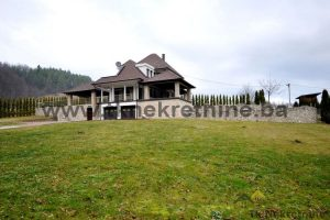 Exclusive weekend house w/swiming pool, garagge, orchard and forest, built on the 5994 m² land plot, setlement Gornja Orahovica, Gračanica municipatlity – FOR SALE