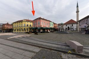 "CITY CENTRE – FREEDOM SQUARE – 1BDRM apartemnt 54 m², next to restaurant ""MamaMia"", ""PIZZA BAR"" and Pannonian lakes, Tuzla– FOR SALE"